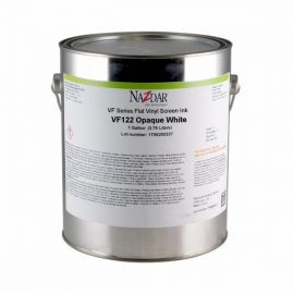 Nazdar VF Series Vinyl Ink with a Flat Finish