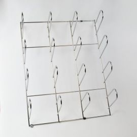 Chrome Plated Wall Mount Material Rack WR-1600