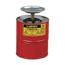 Justrite Plunger Cans